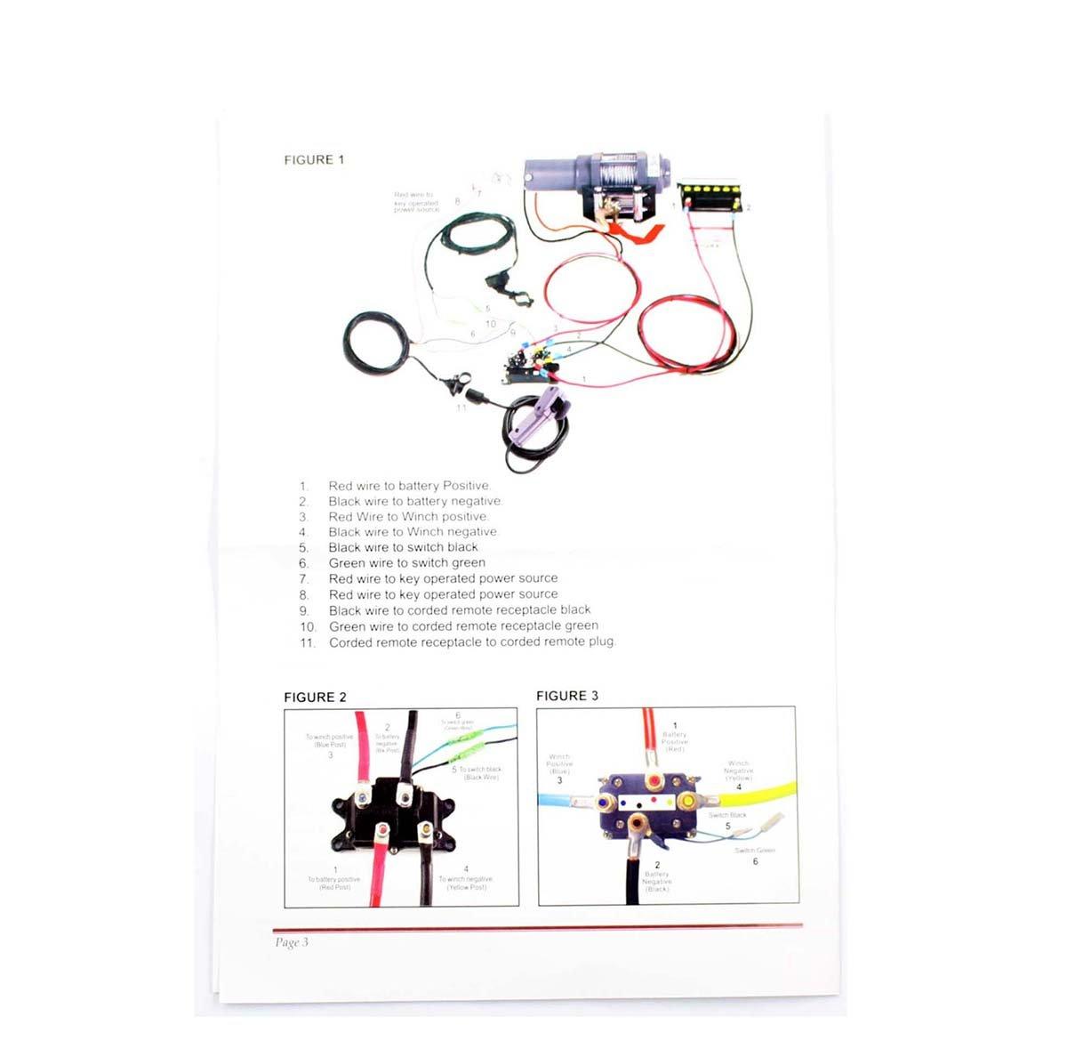 amazon com goodeal 12v solenoid relay contactor winch rocker amazon com goodeal 12v solenoid relay contactor winch rocker thumb switch for atv utv automotive