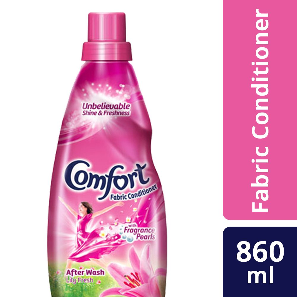 Comfort After Wash Lily Fresh Fabric Conditioner - 860 Ml