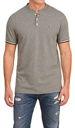 Hollister - Polo - para hombre gris gris Medium: Amazon.es: Ropa y ...