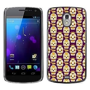 ZECASE Funda Carcasa Tapa Case Cover Para Samsung Galaxy Nexus 3 Prime I9250 No.0002044