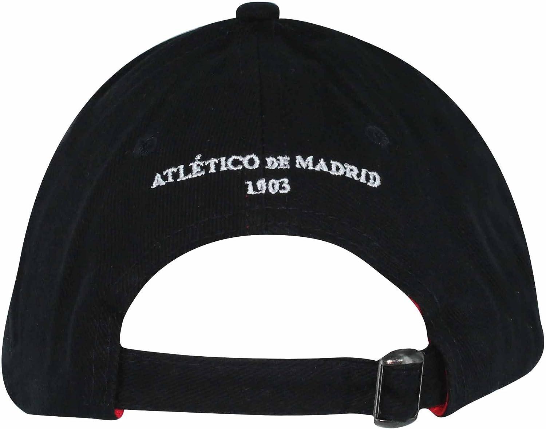 Gorra de béisbol Oficial del Atlético de Madrid (La Liga): Amazon ...