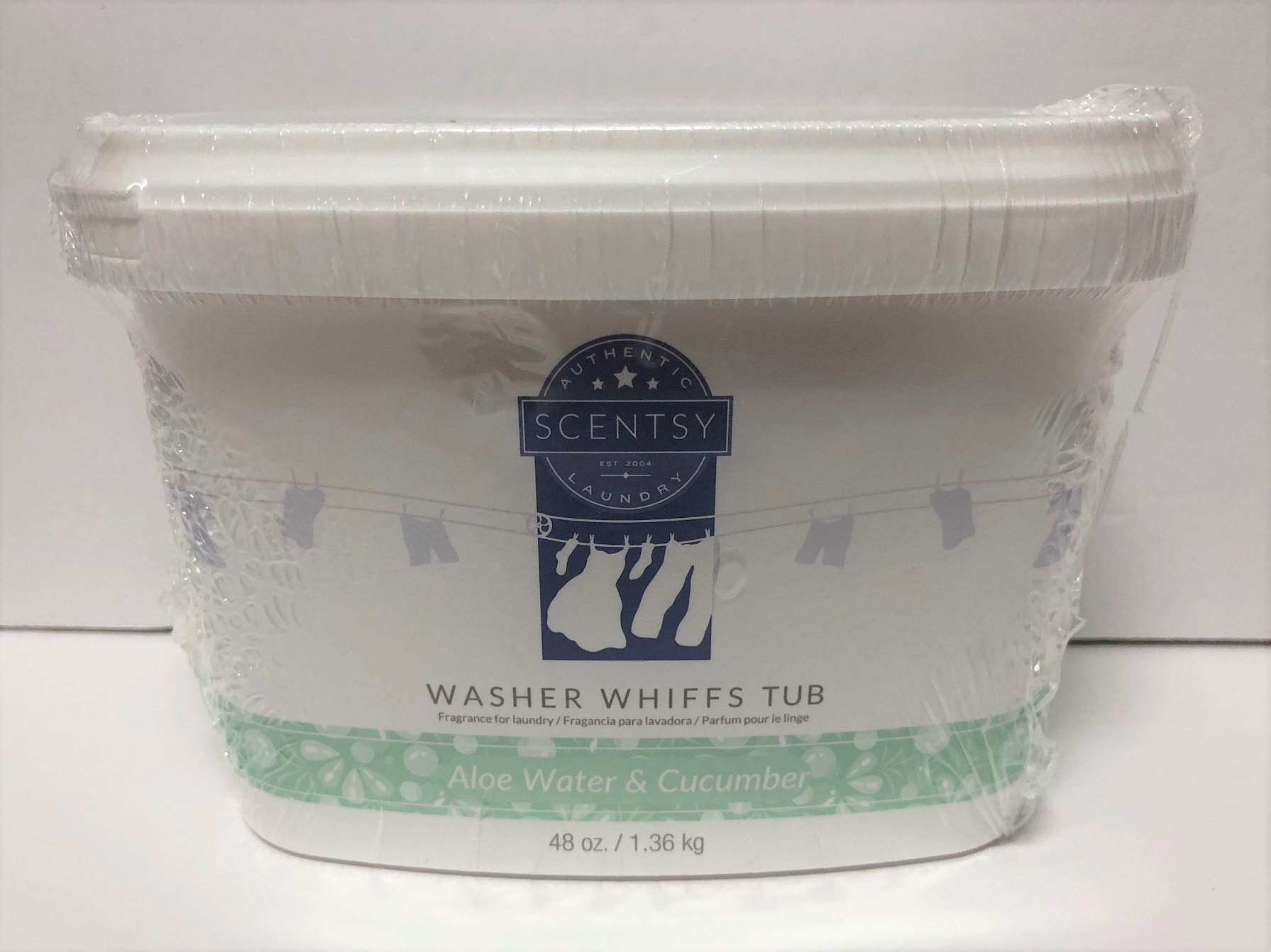 Layers by Scentsy Washer Whiffs (Aloe Water) 48 oz Tub