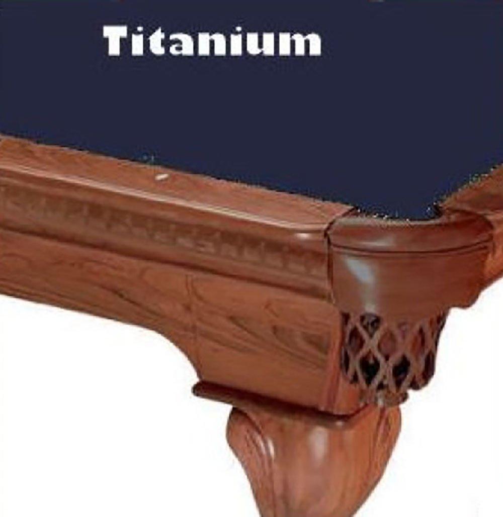 Amazon.com : 8u0027 Titanium ProLine Classic 303 Billiard Pool Table Cloth Felt  : Sports U0026 Outdoors
