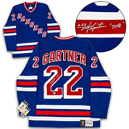 new style 92dc5 58e15 Mike Gartner Signed Jersey - Fanatics Vintage - Autographed ...