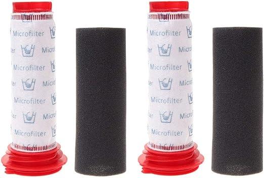 Rediboom Paquete de 2. Filtros de Espuma y Filtros Microsan para ...