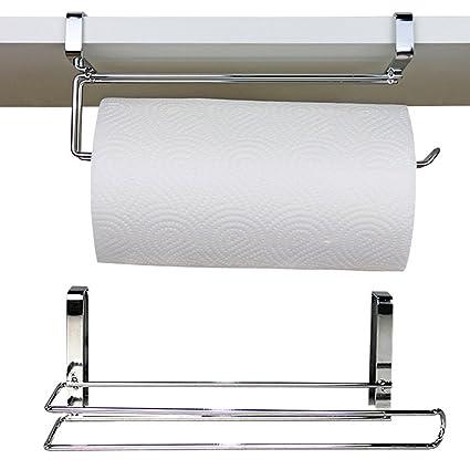 Home Improvement Nice Fashion Bathroom Paper Rack Under Cabinet Paper Rolls Towel Hanging Kitchen Towel Rack Toilet Roll Holder Racks Stainless Metal Bathroom Hardware