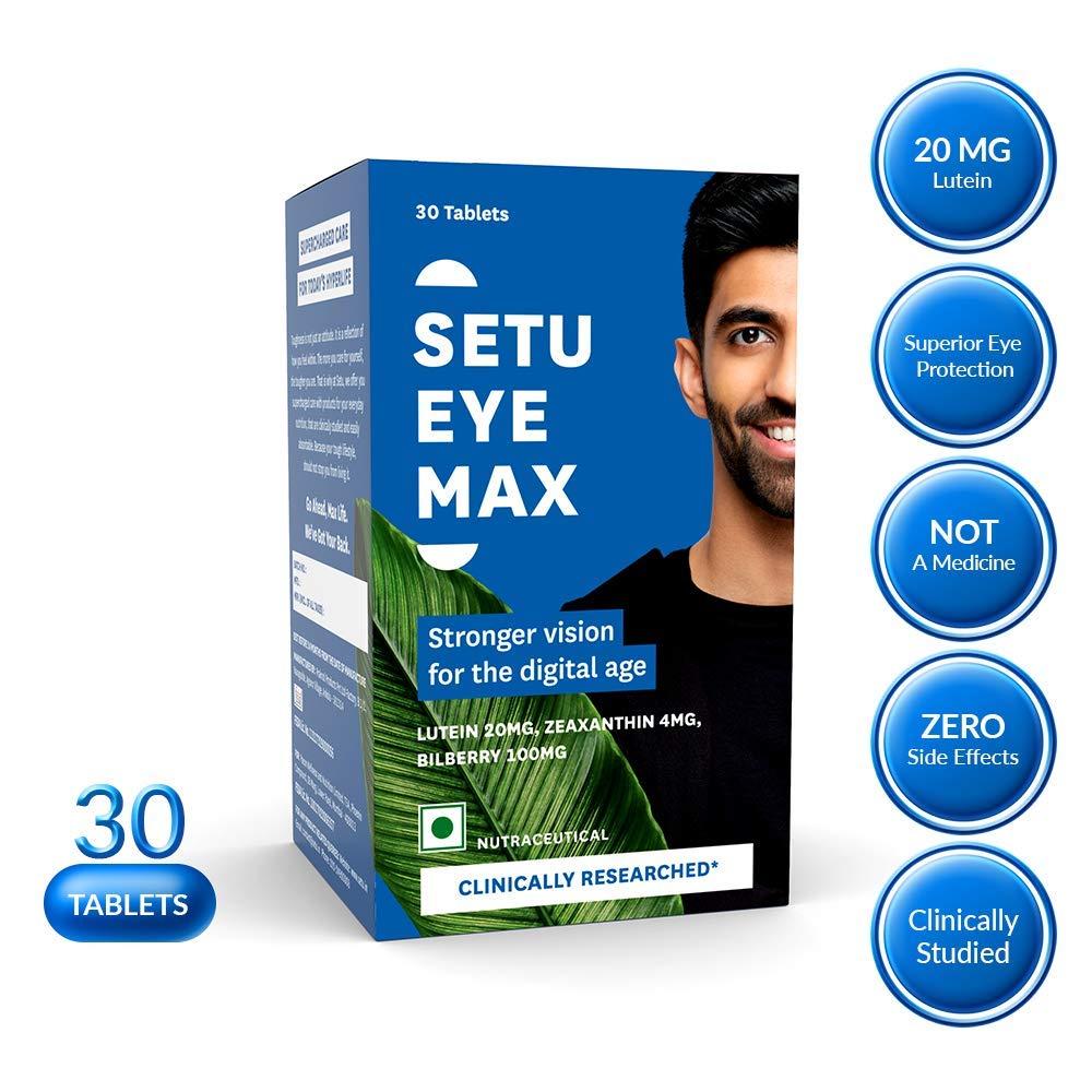 Setu Eye Max For Optimal Vision Function - 30 Tablets
