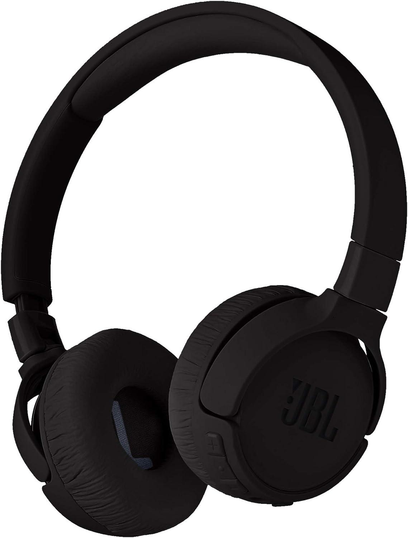 JBL Tune 600 BTNC On-Ear Wireless Bluetooth Noise Canceling Headphones - Black (Renewed)
