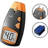 Dr.Meterデジタル木材水分計 木材の湿度測定に(操作簡単) 4ピンタイプ キャリングケース付き MD814