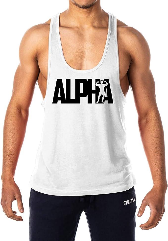 GYMTIER Alpha - Camiseta de Tirantes para Hombre: Amazon.es: Ropa y accesorios