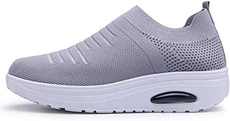 Moonker Womens Walking Sneakers Wide Width Casual Shoes Ladies Girls Fashion Athletic Running Shoes Tennis Shoes