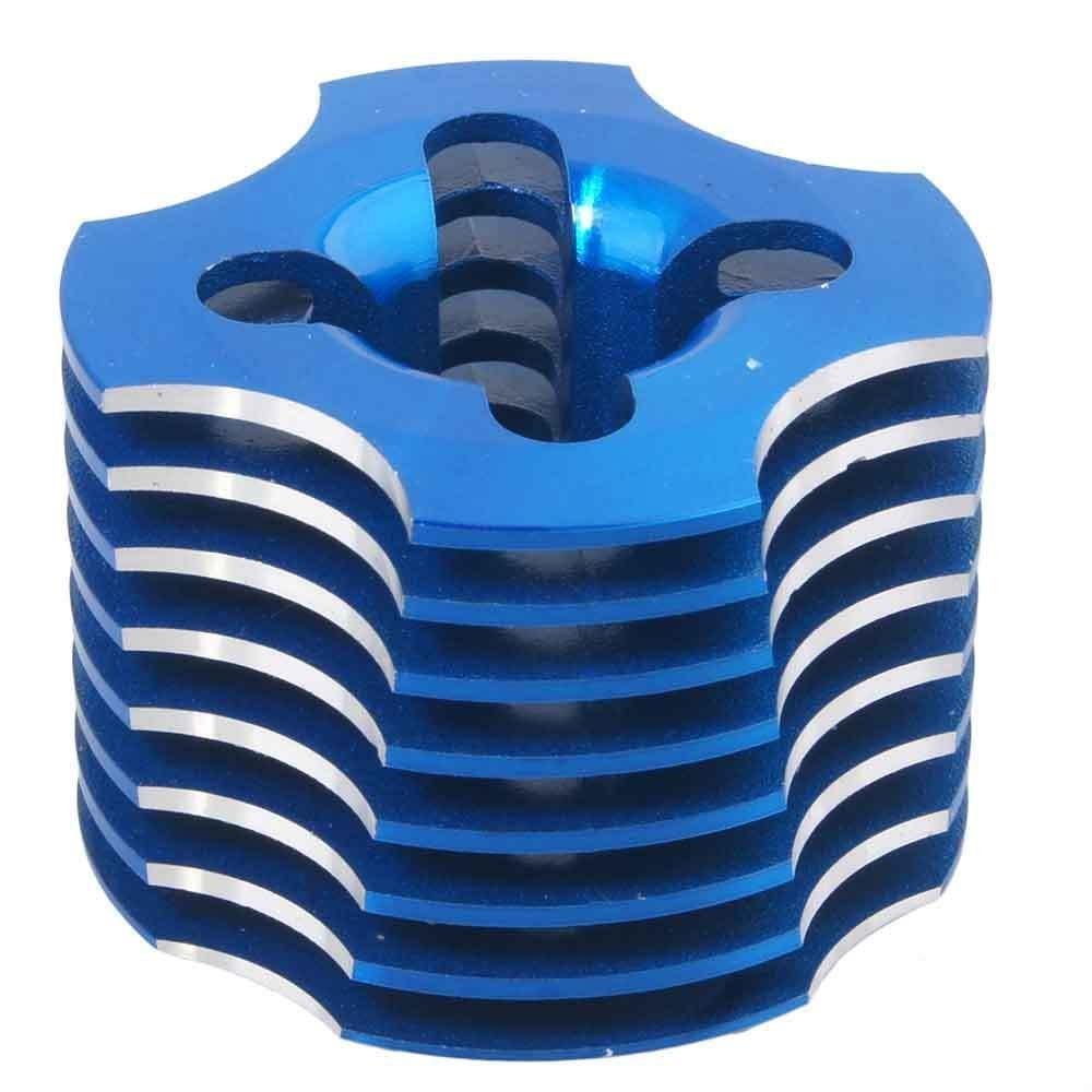 Toyoutdoorparts RC 18CXP R003 Blue Aluminum Cylinder Head For HSP 02060 Nitro VX 18 Engine