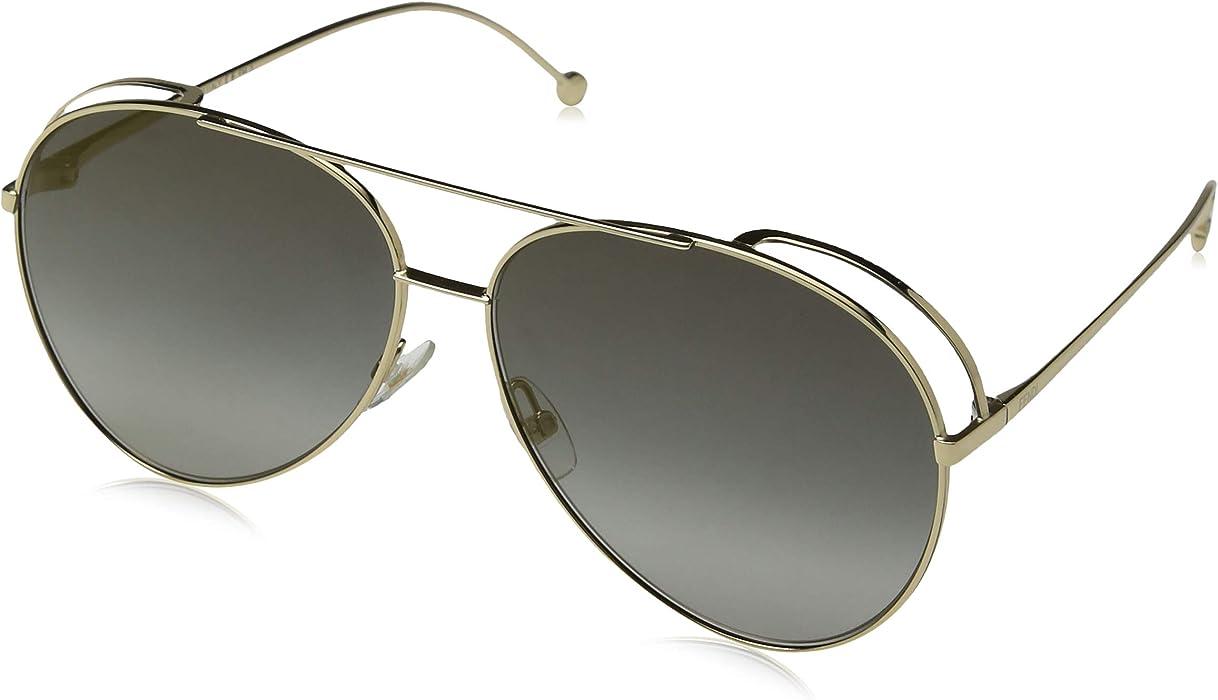 6534c017e15a Fendi Women s FF 0264 S FQ 086 51 Sunglasses