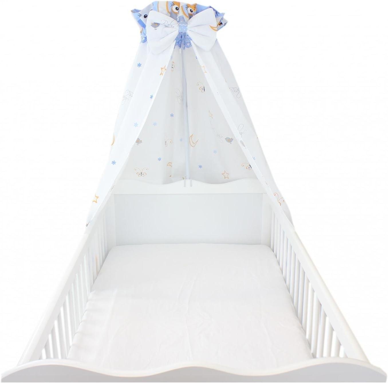 c Azul TupTam Dosel para Cama con Lazo para Beb/é 160x240 cm