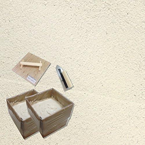練済み珪藻土グレイン 6畳道具セット アイボリー