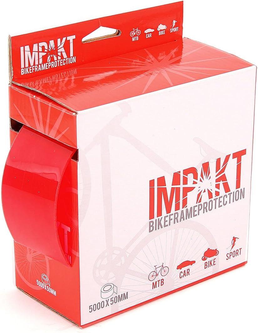 MSC Bikes 0843604152273 Protector de Cuadros y vainas, Unisex Adulto, Transparente, 15/17 Nº PIE