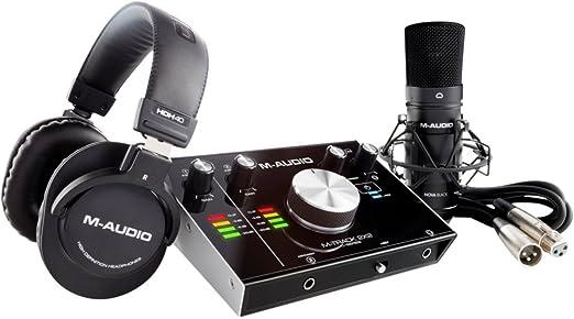 29 opinioni per M-Audio M-Track 2X2 Vocal Studio Pro Pacchetto Completo per Registrazione e