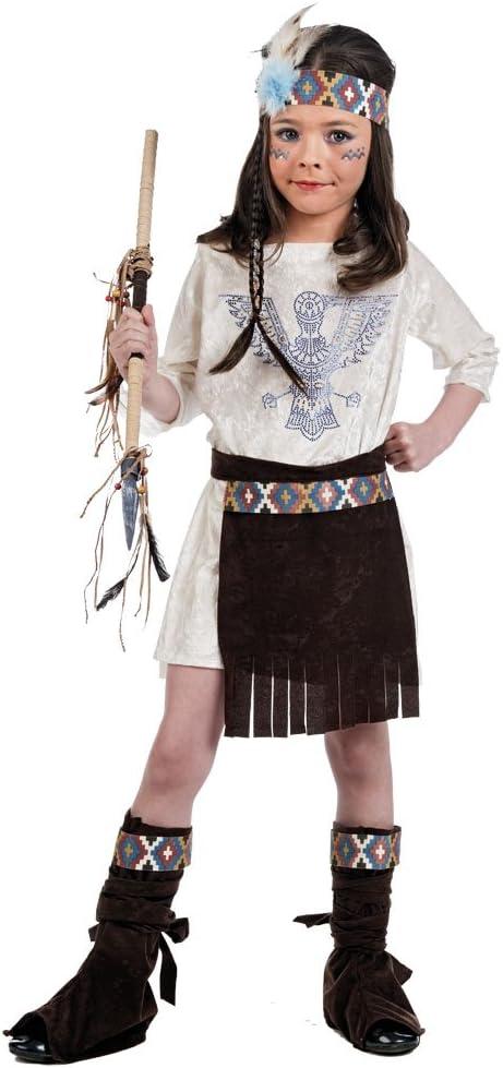 Limit Sport MI963 - Disfraz de india para niña, talla 4: Amazon.es ...