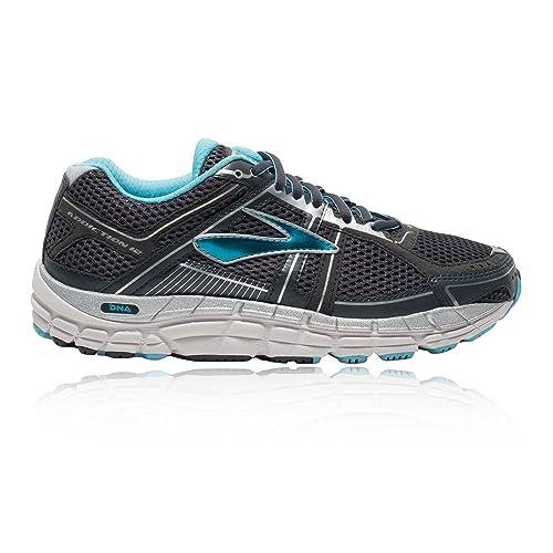 dbdf3ec43211b Brooks Addiction 12 Women s Running Shoes (2E Width) - 4 Blue ...