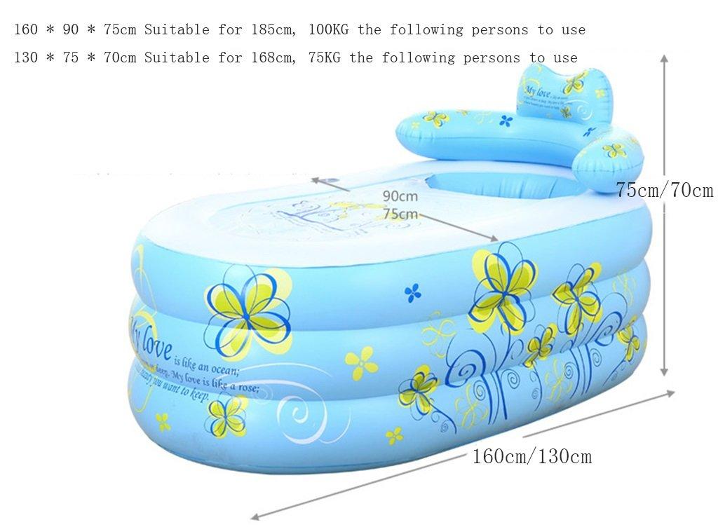 sunhai & bañera hinchable para adultos bañera plegable bañera baño de los niños en el lavabo baño bañera plástico Barriles: Amazon.es: Hogar