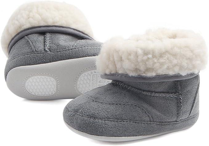 ZUMUii Butterme Suela para Beb/és Toddler Warm Soft Cuna Botas Algod/ón Star Sneakers para Beb/és Marca Prewalker
