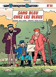 """Afficher """"Les Tuniques bleues n° 53 Sang bleu chez les Bleus"""""""