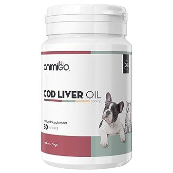Animigo Aceite Hígado de Bacalao para Perros y Gatos | Suplemento ...