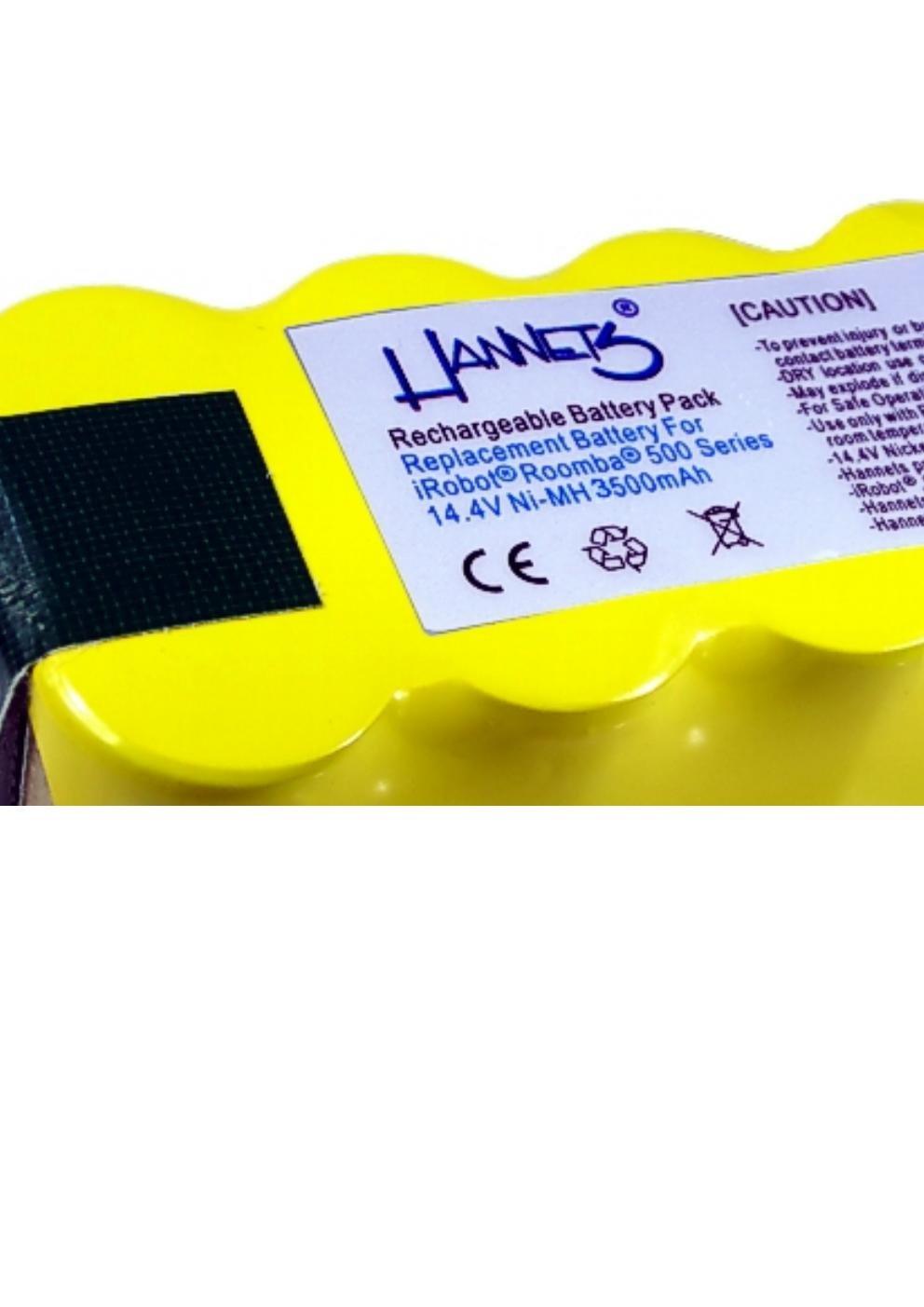 Batterie iRobot 780 Hannets/® de qualit/é I Batterie i-Robot Roomba Pack de batteries Aspirateur Pi/èce d/étach/ée I Roomba 780 Accessoires Batterie 3500 mAh Robot aspirateur de rechange 14,4 V