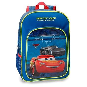 Disney 4062361 Racing Series Mochila Infantil, 40 cm, 19.2 litros, Azul: Amazon.es: Equipaje