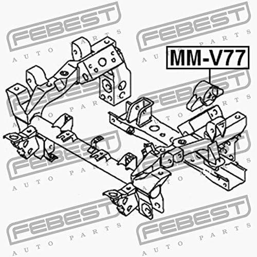 Febest MM-V77 CUSCINO DIFFERENZIALE ANTERIORE