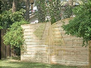 Catral Panel De Madera Trenzada Recto 180 X 180 Cm.: Amazon.es: Jardín