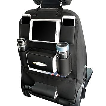 Organizer KFZ Autositztasche Autositz Tasche Rücksitztasche Rücksitz Schwarz