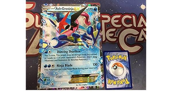 Amazon.com: Pokemon XY Ash-Gerinja-EX XY133 Oversized Promo ...