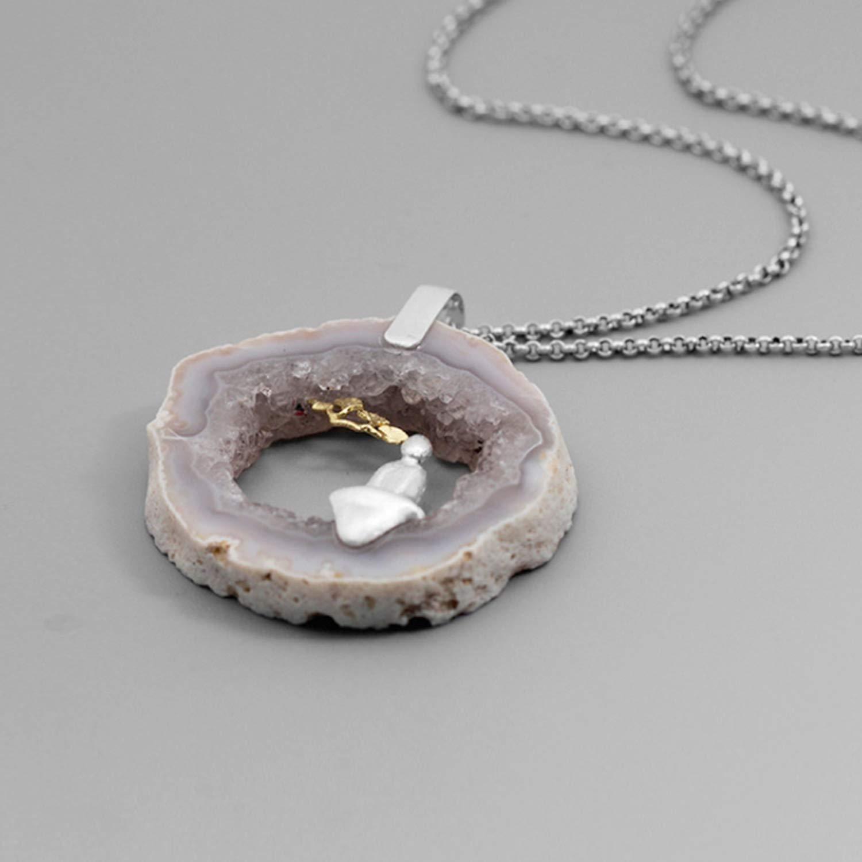 925 Sterling Silver Pendant Necklace Women Necklaces Pendants Handmade Fine Jewelry 925 Silver Pendant
