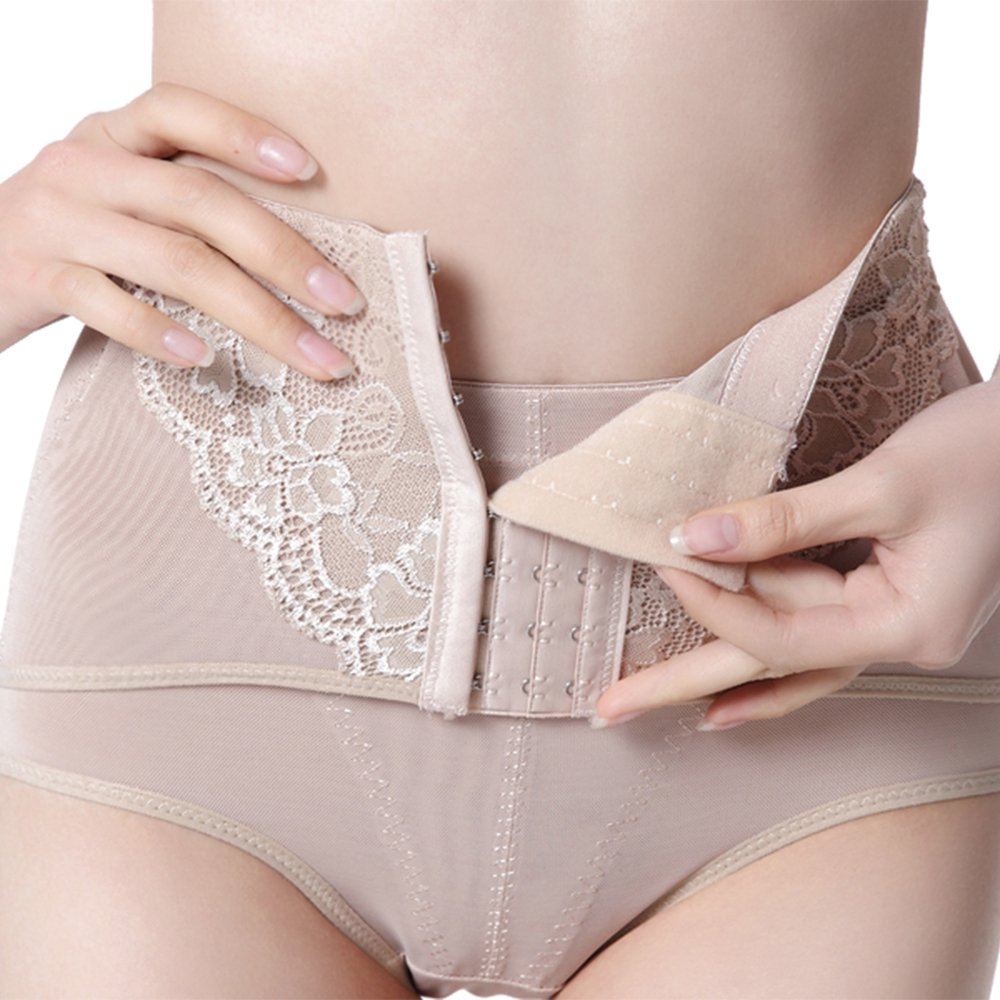 Womens Lace Control Panties Shapers Tummy Briefs Slimming Pants Butt Lifter Waist Trainer