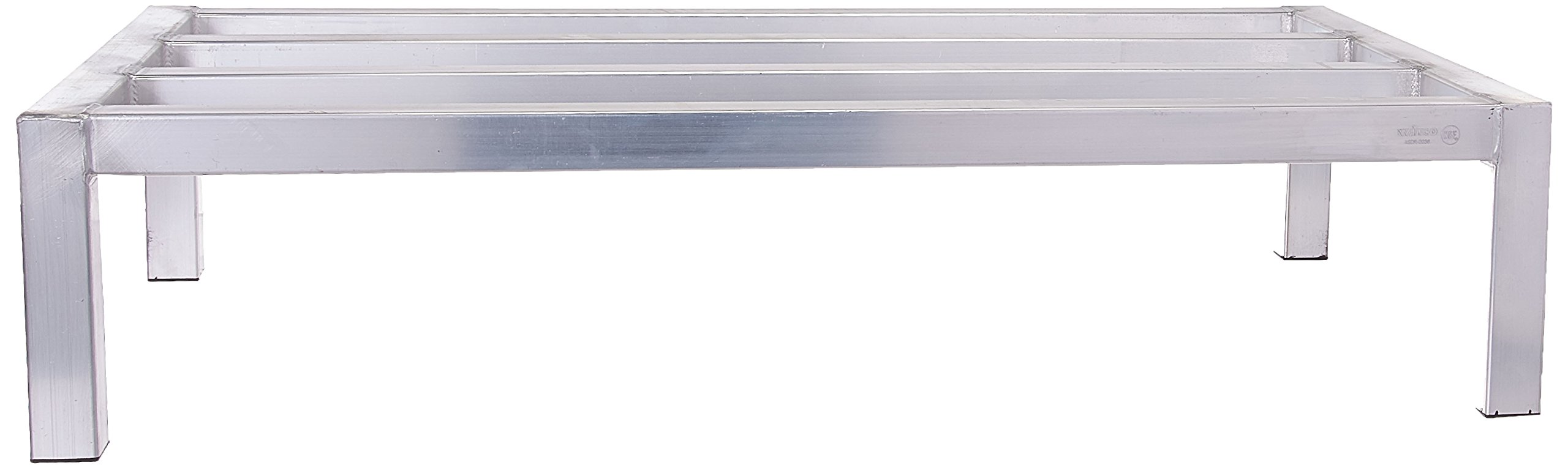 Winco ASDR-2036 20-Inch by 36-Inch Dunnage Rack, 8-Inch High, 1800-Pound Capacity