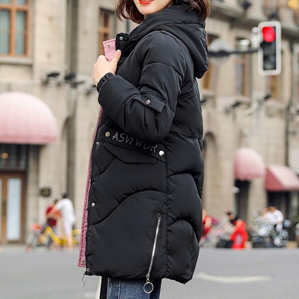 JJggsi4 Giacca Donna Elegante Corta Piumino Invernale