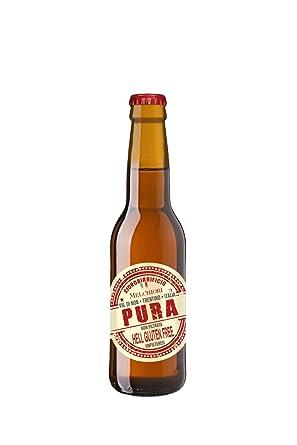 Pura gluten free italian craft beer 330ml single bottle amazon pura gluten free italian craft beer 330ml single bottle negle Images