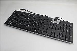 Dell U481D Black/Silver USB Multimedia CANADIAN MULTILINGUAL Keyboard