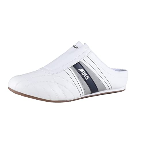 HSM Schuhmarketing - Mocasines para hombre blanco Weiß, color blanco, talla 43: Amazon.es: Zapatos y complementos