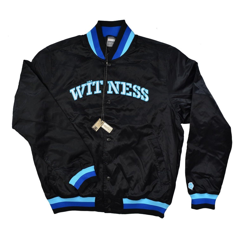 Nike Men's L23 LeBron Finisher Witness Basketball Jacket 3XL Black-Blue