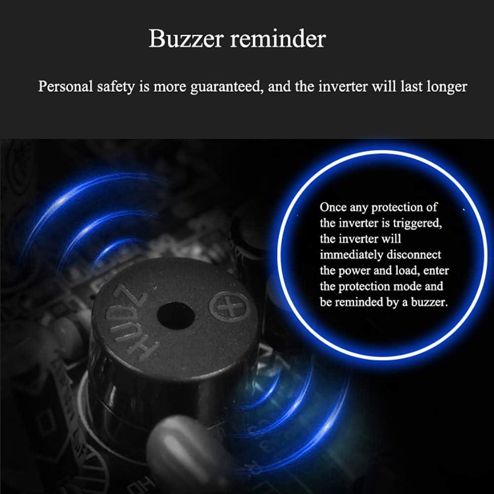 ANJING 350W Dauerleistung 500W Spitzenleistung Wechselrichter 12V auf 230V 1 Wechselstrom Steckdosen spannungswandler mit USB-Anschluss