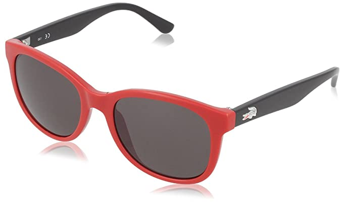 Amazon.com: Lacoste Eyewear Square Kids Sunglasses (Red ...