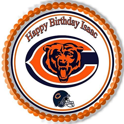 Chicago Bears - Edible Cake Topper - 10'' round