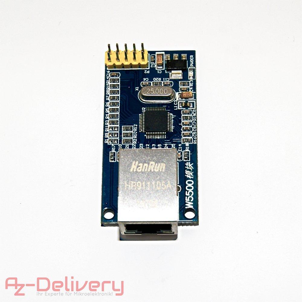 AZDelivery SIM 900 GPRS/GSM Shield + GPS Module + SIM 808 + Ethernet Shield con Gratis eBook W5500 Ethernet: Amazon.es: Informática