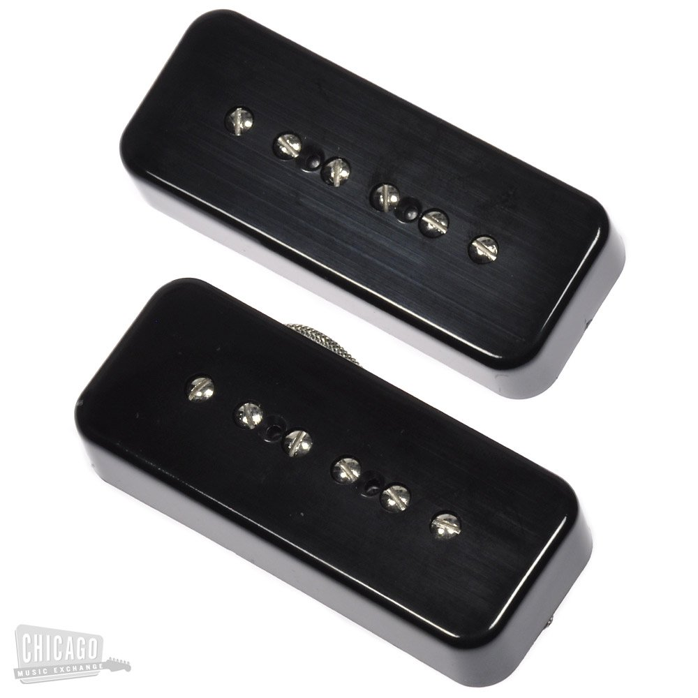 Lindy Fralin P-90 Soapbar Pickup Set Black