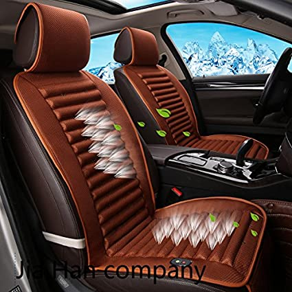 Cooling Car Seat Cushion With Big Fan