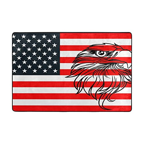 Alfombrilla para puerta, diseño de la bandera de América de ...