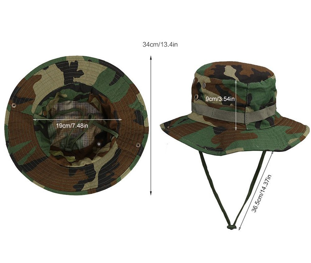 Fablcrew Boonie Hats Sun Hat Outdoors Sun shading Quick Drying Bucket Hat Camping Travel Cap Beige