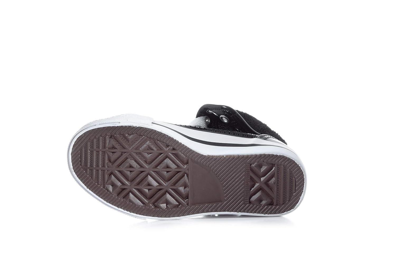 Double Platinum Girls Hi-Top Sequin Fur Sneaker DESTINYC